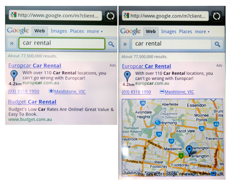 Hyperlocal-mobile-search - Europcar
