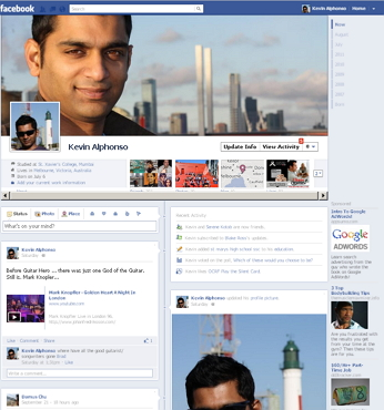 FB Timeline Sample